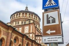 Дорожный знак Santa Maria Стоковые Изображения