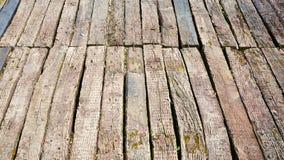 Доска деревянной планки деревянная Стоковое Фото