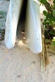 Доска затвора на пляже Стоковые Фотографии RF