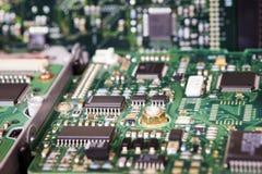 Доска интегральной схемаы жёсткого диска Стоковое Изображение RF