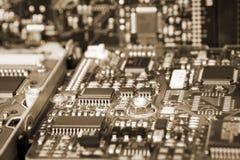 Доска интегральной схемаы жёсткого диска Стоковые Фотографии RF