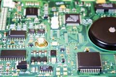 Доска интегральной схемаы жёсткого диска Стоковые Фото