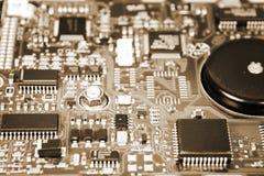 Доска интегральной схемаы жёсткого диска Стоковое Фото