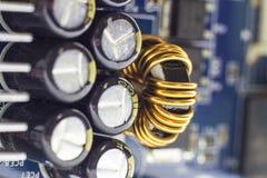 Доска матери компьютера стоковое изображение rf