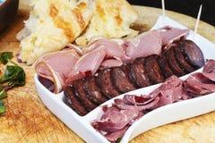 Доска мяса стоковое изображение