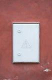 Доска напряжения тока высоты электрическая Стоковое Фото