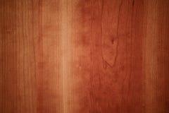 Доска настила вишни деревянная - безшовная текстура Стоковое Фото