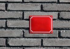 Доска номера дома стоковые изображения rf