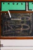Доска - покинутая школа Philomena Святого, восточный Кливленд, Огайо Стоковая Фотография