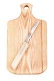 доска прерывая нож Стоковые Изображения RF