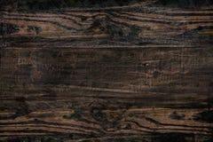 Доска предпосылки коричневая деревянная Стоковые Изображения