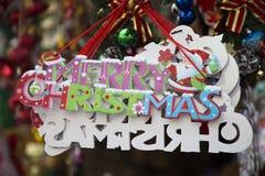 Доска рождества радушная внешняя Стоковые Фото