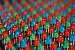 Милые шарики СИД Стоковая Фотография RF