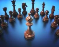 Доска шахматов епископа Стоковая Фотография RF