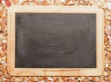 Доска школы черная стоковые изображения