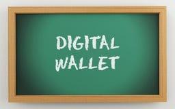 доска 3d с текстом бумажника цифров бесплатная иллюстрация