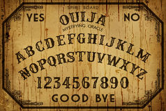 Доска Ouija искусства предпосылки Стоковая Фотография