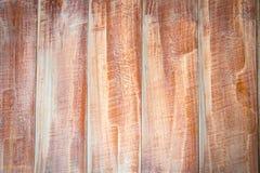 Доска Teak деревянная после шлифовального прибора Стоковое Изображение