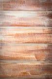 Доска Teak деревянная после sandering Стоковая Фотография RF