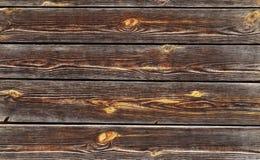 Доски Брайна старые с узлами Стоковые Фотографии RF