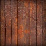 доски орнаментируют деревянное Стоковые Изображения