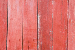 Доски покрашенные красным цветом старые деревянные Стоковое Изображение