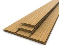 доски предпосылки выбрали белое деревянное Стоковое Изображение