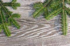 Доски предпосылки рождества старые деревянные Стоковые Изображения