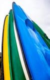 Доски пляжа закрывают вверх Стоковая Фотография RF