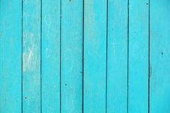 Доски текстуры голубые старые Стоковая Фотография