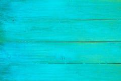 Доски текстуры голубые старые Стоковая Фотография RF