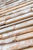 Доски текстуры предпосылки старые деревянные Стоковое Изображение