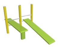 Доски Sit-up, иллюстрация 3D Стоковая Фотография