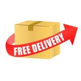 Доставка бесплатной доставки Стоковые Фотографии RF