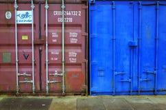 Доставка или грузовые контейнеры Стоковая Фотография RF