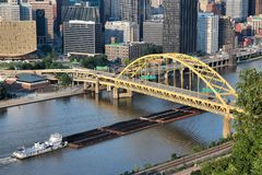 Доставка реки стоковые изображения rf