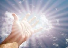 Достигаемость для неба Стоковое Изображение