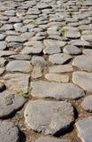 достигните дороги rome Италии colosseum к Стоковые Изображения