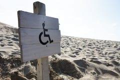 достигните кресло-коляскы Стоковое фото RF