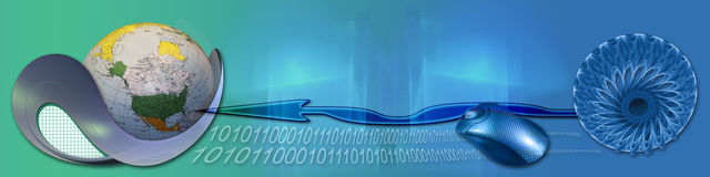 достигните технологии интернета к миру бесплатная иллюстрация