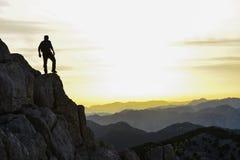 Достигните цель & преуспейте Стоковая Фотография RF