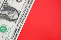 Долларовая банкнота Стоковая Фотография RF