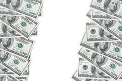 Долларовые банкноты американца 100 Стоковое Изображение RF