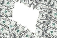 Долларовые банкноты американца 100 Стоковые Фотографии RF