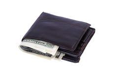 Долларовые банкноты в банкноте Стоковое фото RF