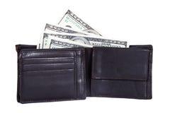 Долларовые банкноты в банкноте Стоковое Изображение RF