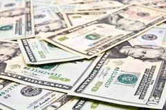 Долларовые банкноты для предпосылки Стоковые Изображения RF