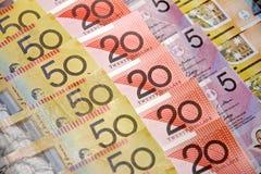 Доллары Австралии Стоковое Изображение