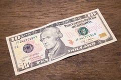 Доллары банкноты Стоковые Изображения
