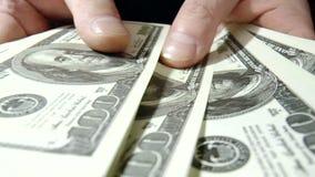 Доллары банкнот акции видеоматериалы